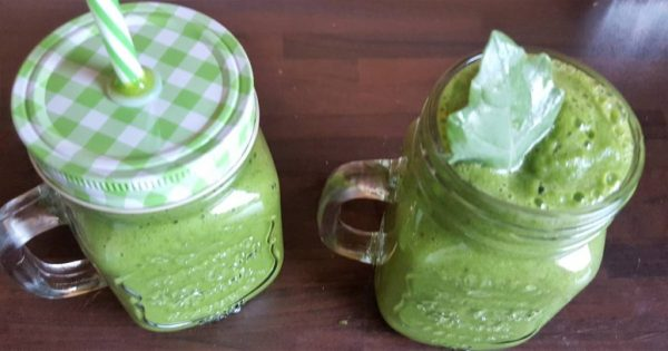 Rise and shine - serve in mason jars!