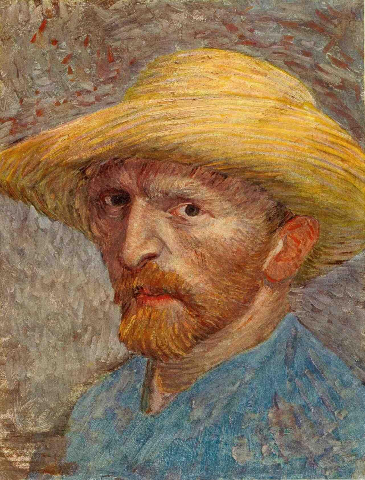 Autoportrait Vincent Van Gogh Tao Of The Writer