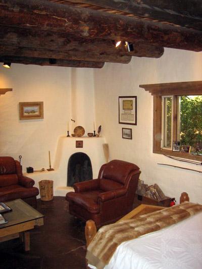 1940s Adobe Residence Period Expansion Taos Design Build