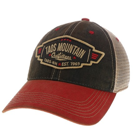 PDCO Leather Patch Trucker