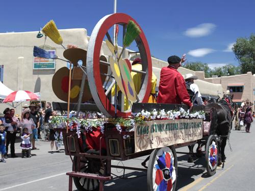 Taos Fiesta Parade ©Jim Cox 2015