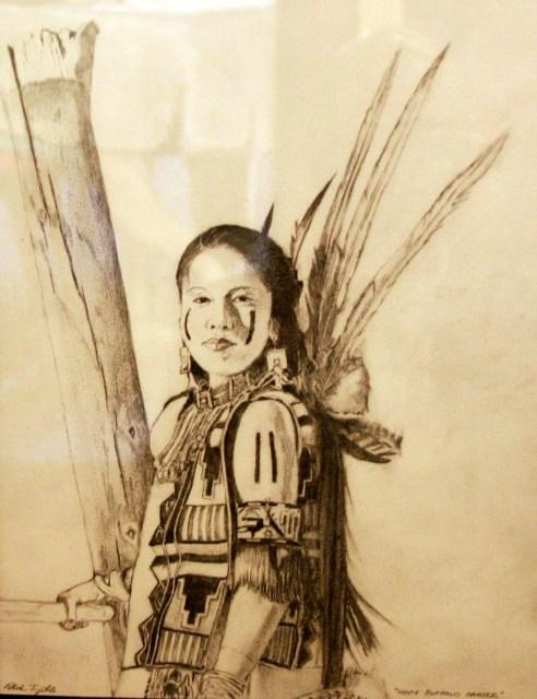 Patrick Trujillo, Hopi Buffalo Dancer