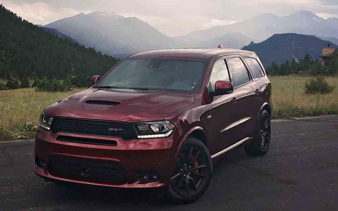 Dodge Durango SRT: Most Powerful 3rd ROW SUV