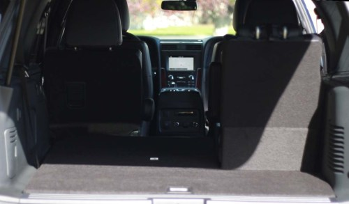 2017 Lincoln Large SUV Rear Cargo
