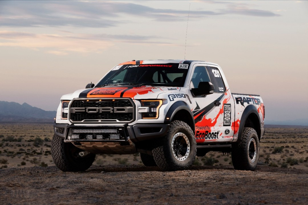 Ford Awarded at SEMA Focus RS and F-Series Trucks