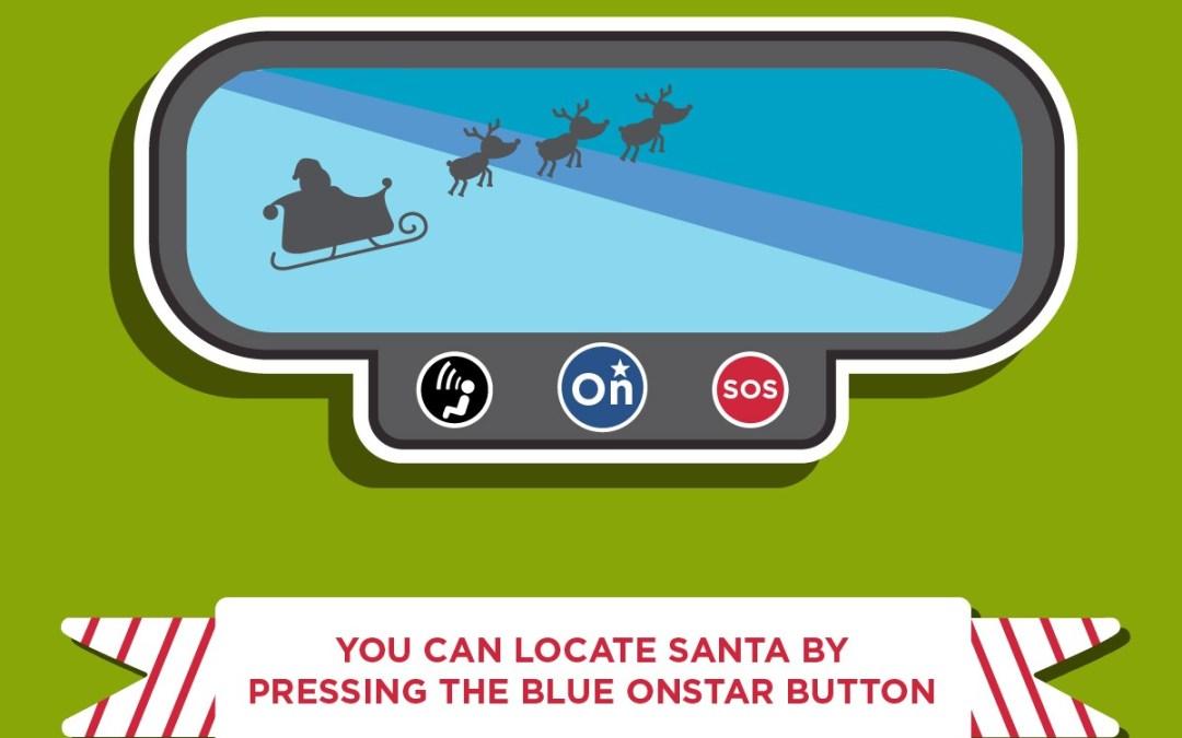 Track Santa with Onstar and NORAD