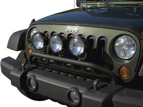 grill guard bumper protector lights