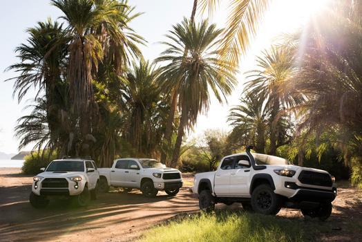 Toyota Unveils 2019 TRD Pro's