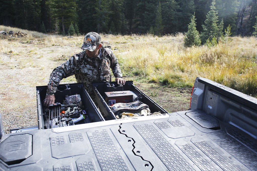 hunting truck drawers