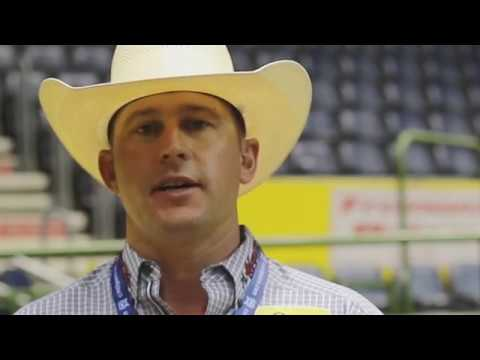 Bullfighter Nate Jestes, Video Interview at CNFR