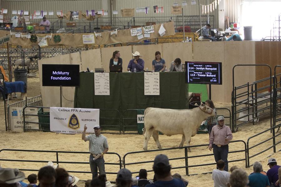 2018 Natrona County 4H/FFA Junior Livestock Sale.