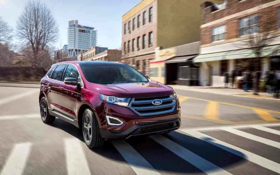 Top 10 Features on the 2018 Ford Edge