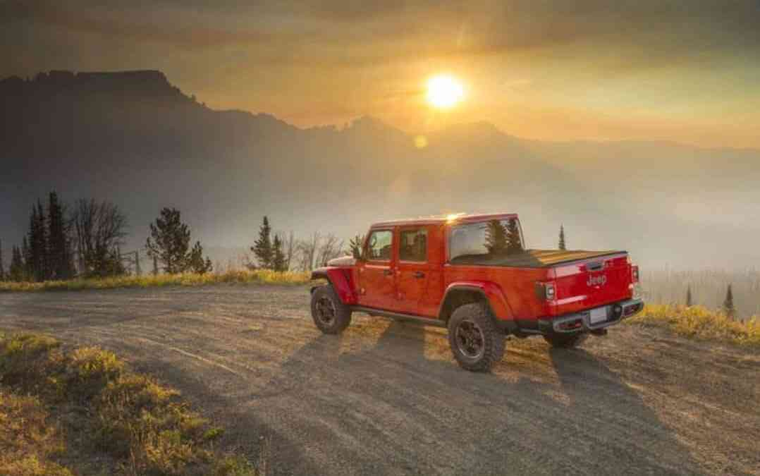 2020 Jeep Gladiator, A Wrangler And Pickup Truck