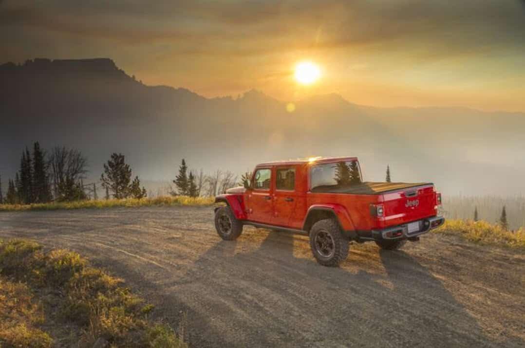 New Jeep pickup truck