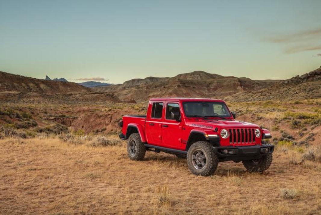 2020 Jeep truck