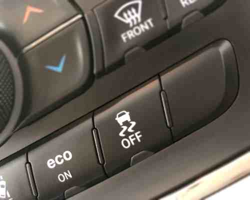 Traction Control off button Jeep