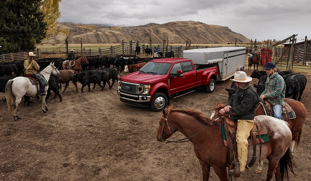 2020 Ford Super Duty Photographed in Wyoming