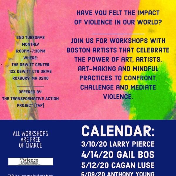 2020 TAP Workshops Flyer