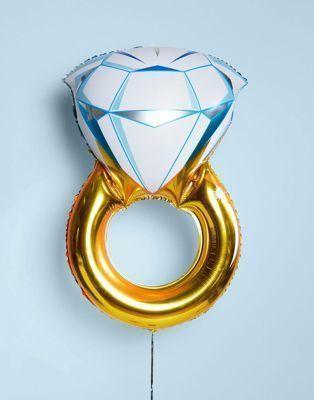 Foil Μπαλόνι σε Σχήμα Χρυσού