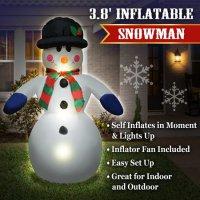 Φουσκωτός χιονάνθρωπος