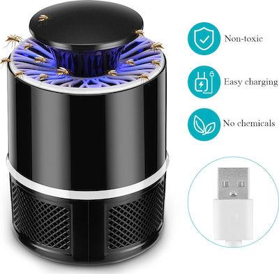 Επαναφορτιζόμενο ηλεκτρικό εντομοκτόνο - Παγίδα εντόμων με Led φωτισμό - EP9422 OEM