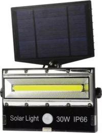Προβολέας LED T8501-COB με ηλιακό πάνελ και αισθητήρα κίνησης