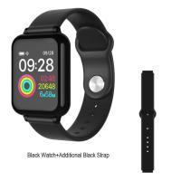 Smart Watch Fitness Tracker με μετρητή καρδιακών παλμών, SpO2 για Android / IOS W4 – OEM – Μάυρο