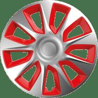 Τάσια αυτοκινήτου stratos 101454 silver & red cbx 14''