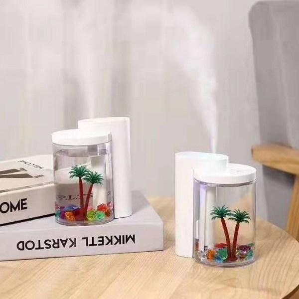 Mini υγραντήρας Flame humidifier - Love Water Humidifier