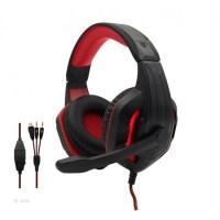 Στερεοφωνικά ακουστικά gaming- KOMC G311- Κόκκινο