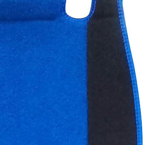 Πλατοκαθίσματα αυτοκινήτου πετσετέ Super Fresh ζευγάρι 2τμχ μπροστινά μαύρο-μπλε