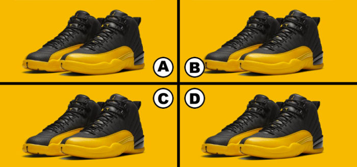 spot the difference: jordans edition