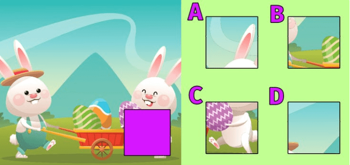 Can you identify which piece is missing in the picture on the left?
