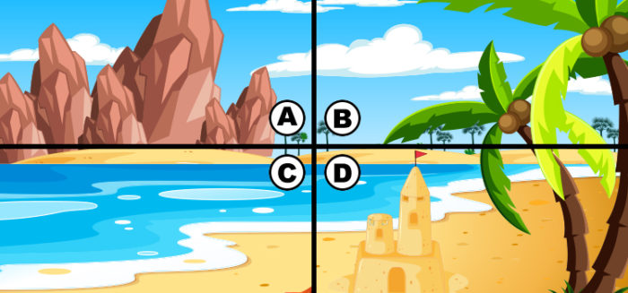 spot the 4 leaf clover answers