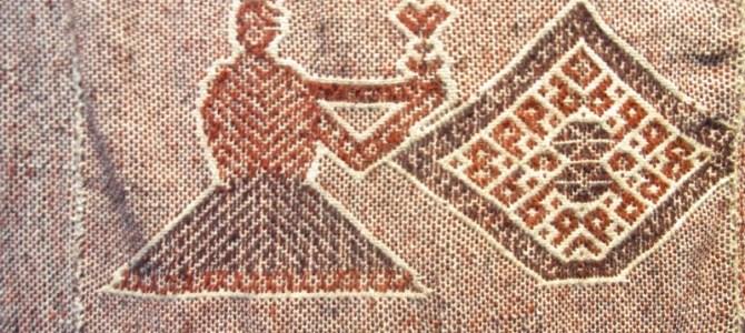 ペルーの伝統織物