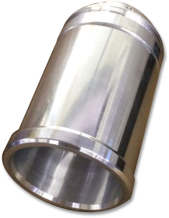 photo of precision metal landing gear tube-shaped nozzle created by Tape Turn Specialties, Inc. of El Monte, California
