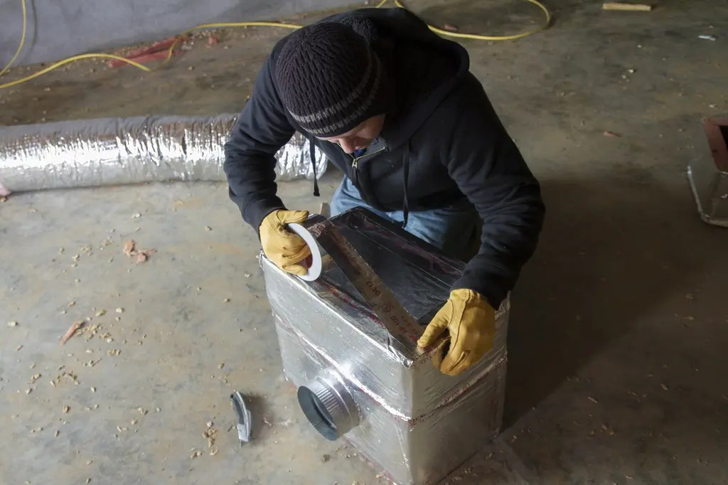 HVAC Tape - Cold Temperature Application