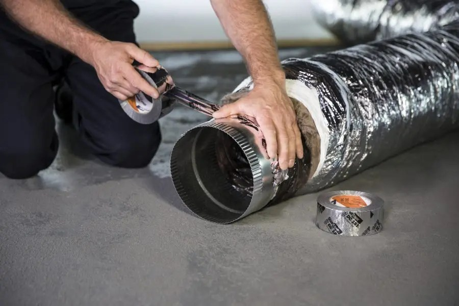 Using the right HVAC tape