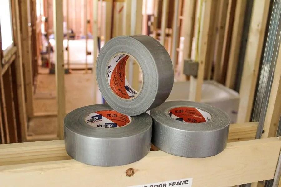 Duct tape vs. HVAC tape