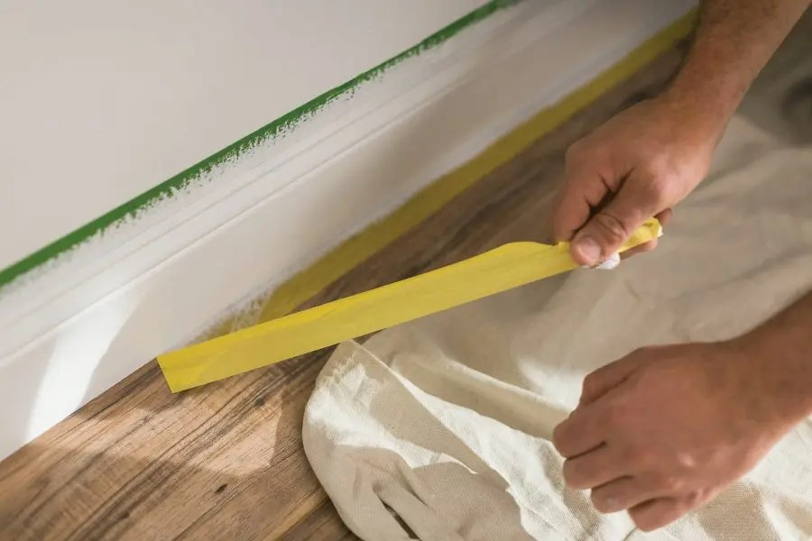 When should I use a delicate surface painter's tape