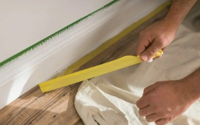 When should I use a delicate surface painter's tape?