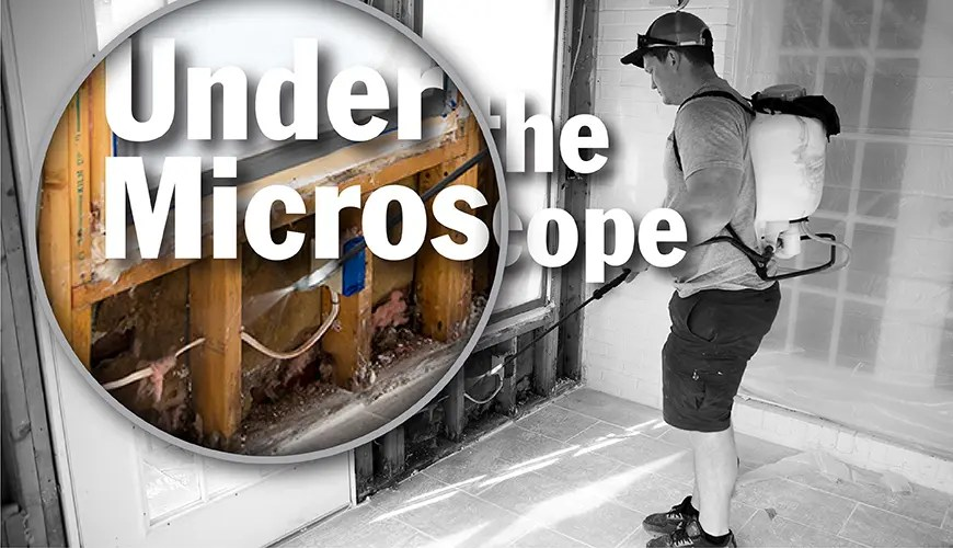 Under the Microscope the consequences of spreading dust in abatement and remediation jobs
