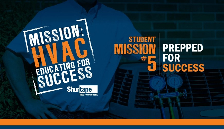 Mission: HVAC 2019 – Mission Five: Prepped for Success