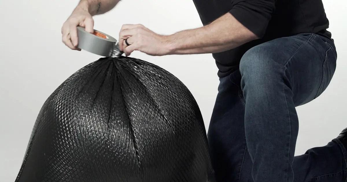 Goosnecking a Waste Bag