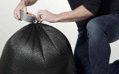 How to Gooseneck a Waste Bag