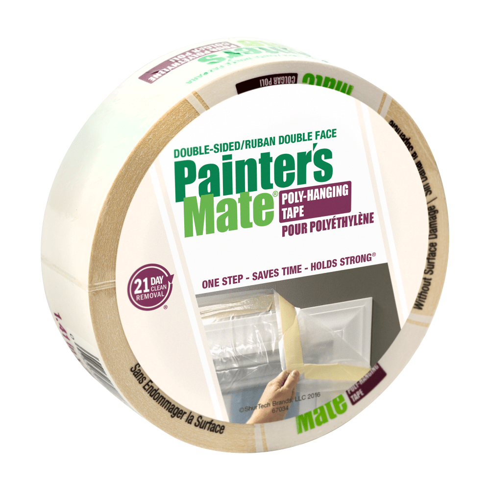 Paint & DIY Tapes > Painting & Masking Tapes > Painter's Mate® Double-Sided Poly-Hanging Tape