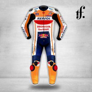 Marc Marquez Honda Repsol MotoGP 2018 Leather Suit