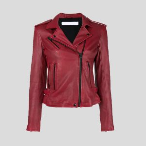 Women Clothing biker jacket Lamb