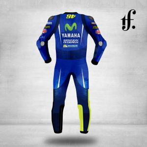 Valentino Rossi Movistar 2018 Yamaha MotoGP Leather Suit