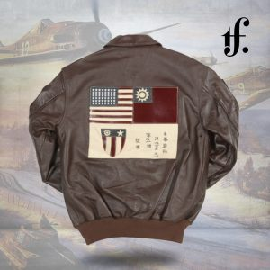 Flying Tigers Air Force Leather Flight Jacket